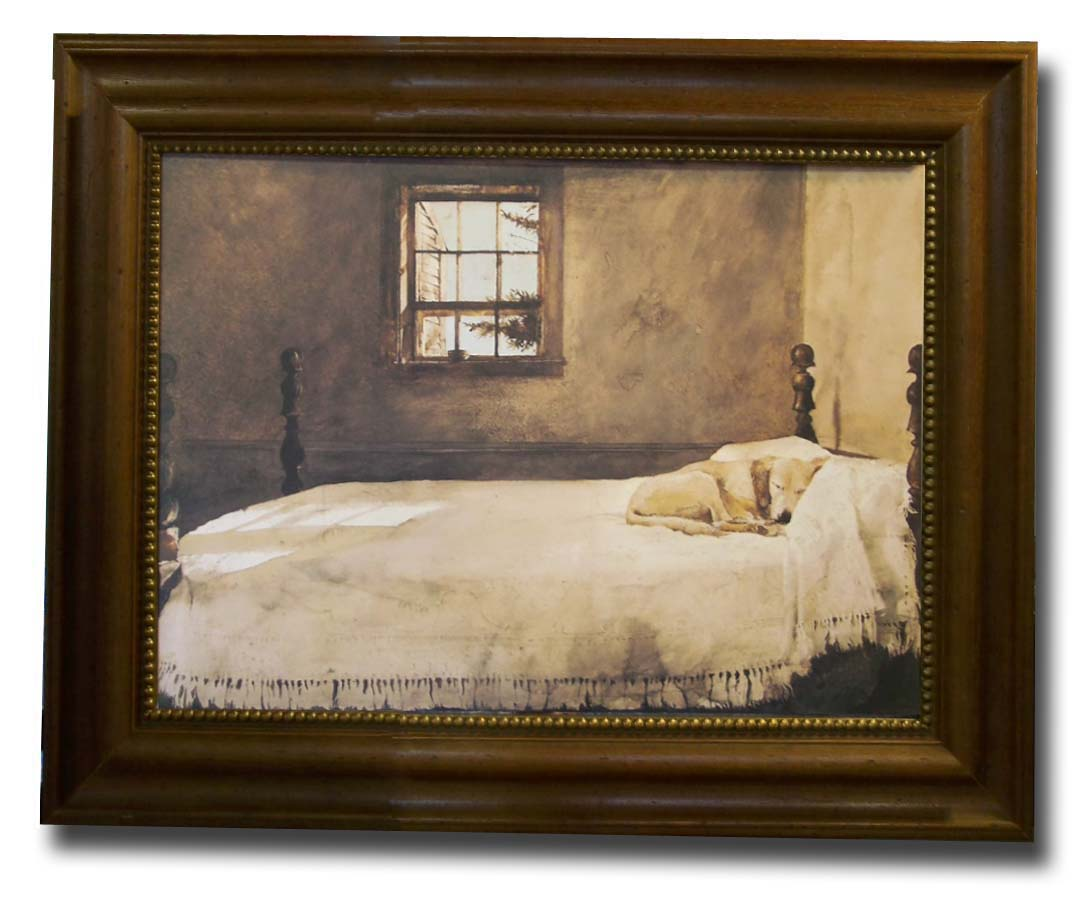 andrew wyeth master bedroom print framed what is your favorite of artwork in your house 20215